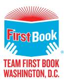 Team First Book DC logo